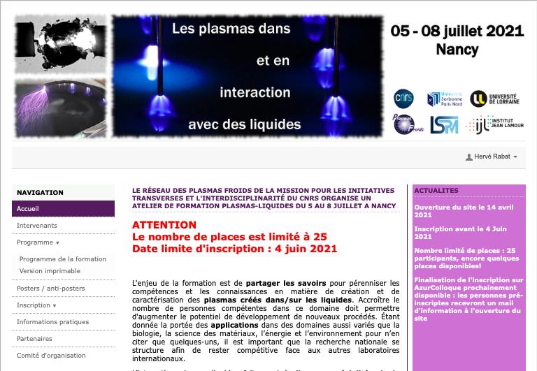 ANF plasma liquide